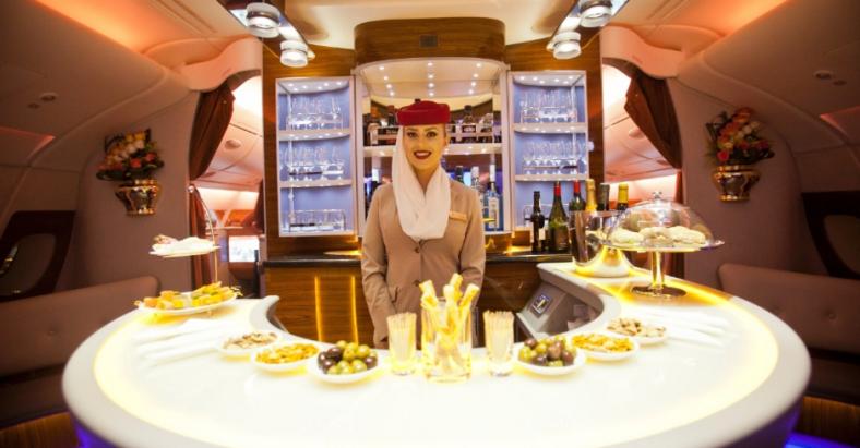 A380 Lounge bar