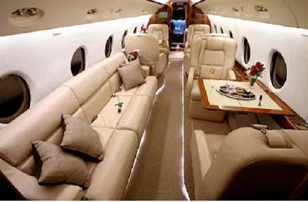 Cristiano Ronaldo's jet