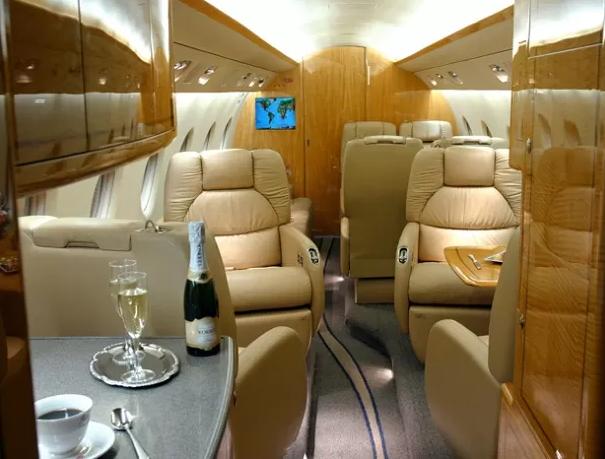 Cristiano Ronaldo's private jet