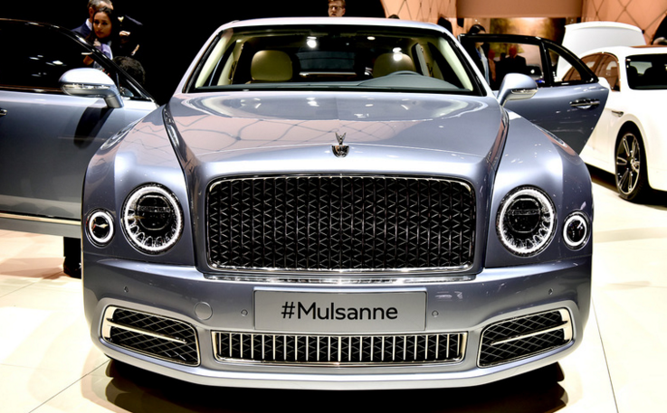 The new Bentley Mulsanne  Riches Guide