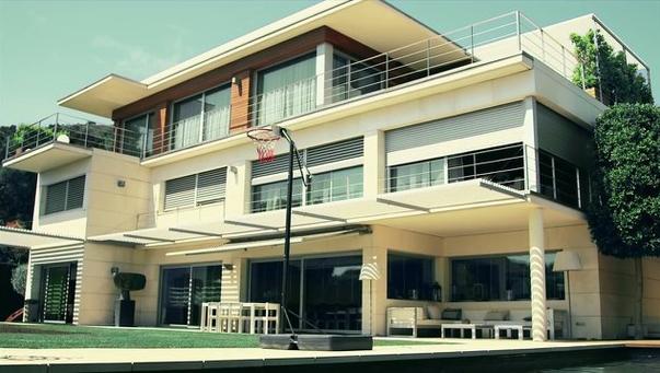 Neymar's house