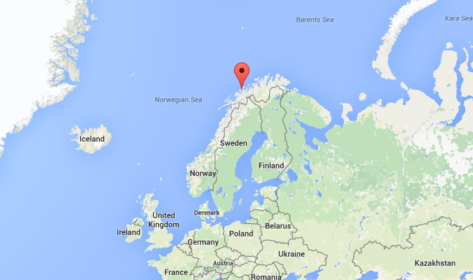 Floating hotel location Tromso.PNG