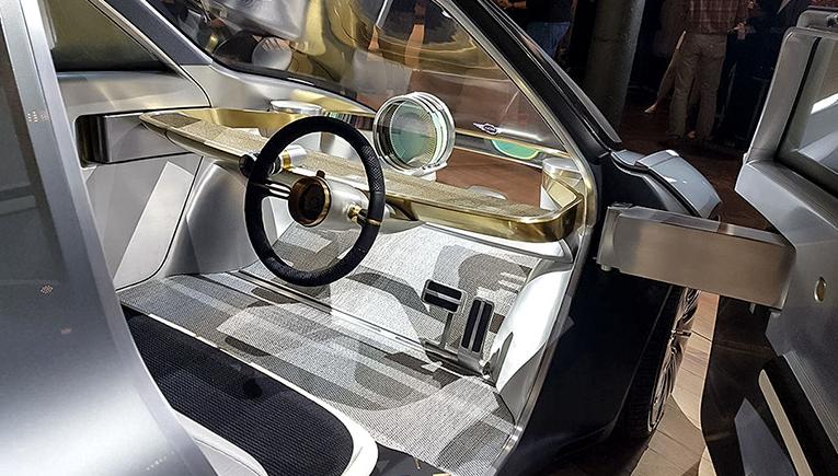 Mini Vision Next 100 interior