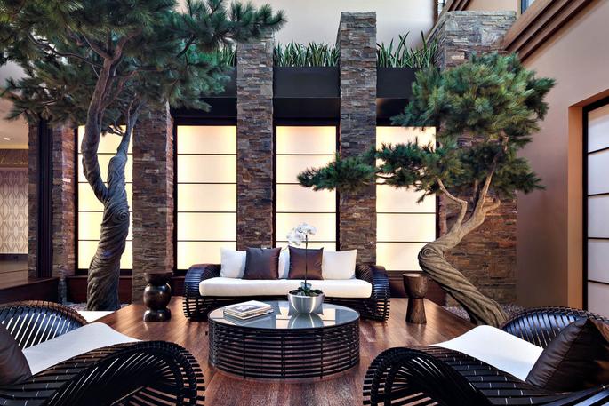 David Copperfield mansion zen garden