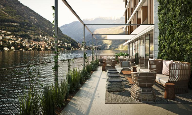 Il Sereno terrace