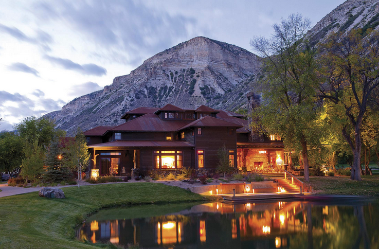 Ranch in Aspen lake