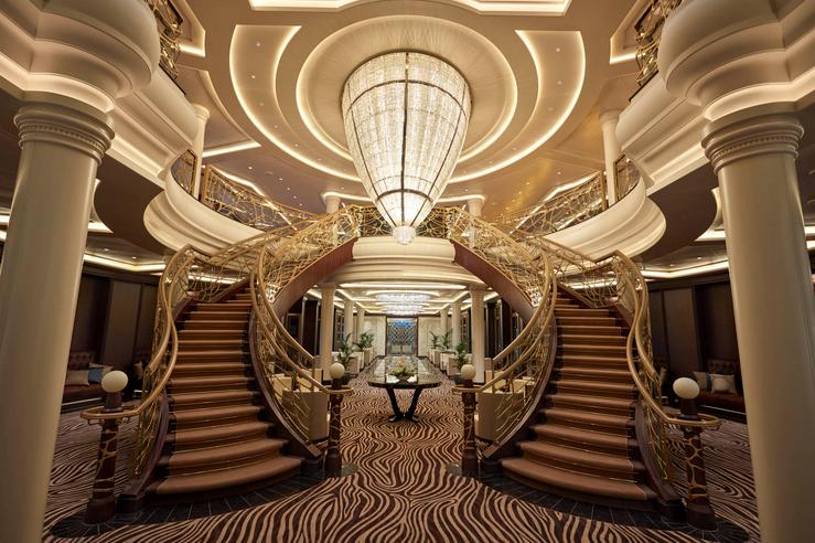 The Seven Seas Explorer Lobby