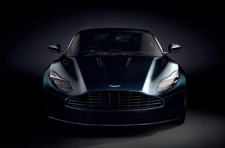Aston Martin DB11 blue