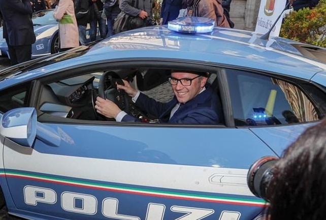 Lamborghini Huracan Police 2